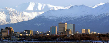Anchorage, the capital city of Alaska