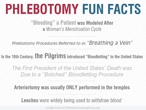 Phlebotomy Fun Facts